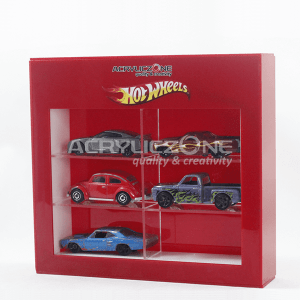 DM01 Display Mainan Hotwheels 6 Seat