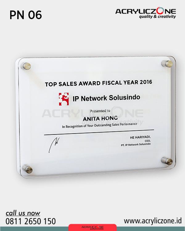 PN06 Papan Nama Top Sales Award IP Network